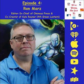4. WYBJU: Ron Marz, Co-Creator of Kyle Rayner (4th Green Lantern)