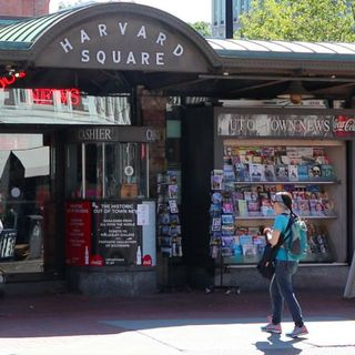 Harvard Square's 'Out Of Town News' Kiosk To Close