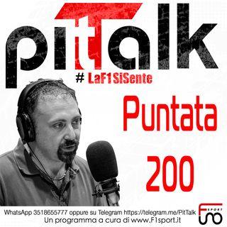 Pit Talk - F1 - Speciale 200esima puntata