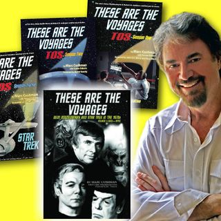 #255: Author and TV historian Marc Cushman is talking Trek with his behind-the-scenes Star Trek books
