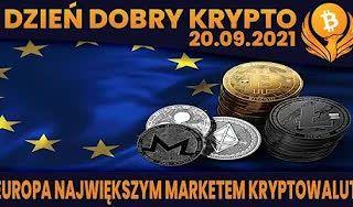 #DDK | 29.09.2021 | EUROPA - NAJWIĘKSZYM RYNKIEM KRYPTOWALUT? WILLY WOO - NIE MA CO PANIKOWAC? A TEN WYKRES JEDNAK?