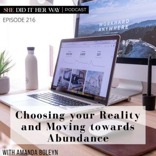 SDH216: Choosing your Reality and Moving towards Abundance With Amanda Boleyn
