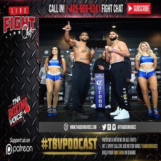 🚨🇺🇸 Dominic Breazeale vs Carlos Negron LIVE FIGHT CHAT💯. #PBCONFOX