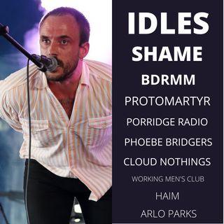 11. Bienvenido 2021. IDLES, Phoebe Bridgers, Shame, Haim y más