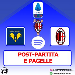 HELLAS VERONA-MILAN 0-2 | PAGELLE e POST PARTITA