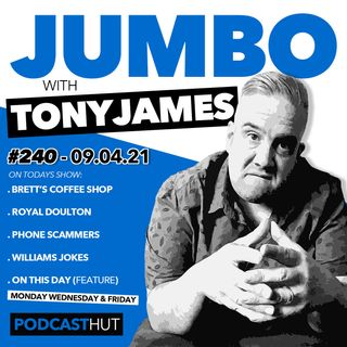 Jumbo Ep:240 - 09.04.21 - Brett & Our Coffee Shop