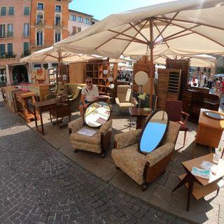 """Torna il mercato vintage e dell'antiquariato """"Non ho l'età"""" in centro storico a Vicenza"""