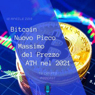 Bitcoin Nuovo Picco Massimo del Prezzo ATH nel 2021 | TG Crypto PODCAST 18-04