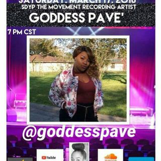 THE TOUR: SPECIAL GUEST RECORDING ARTIST GODDESS PAVE'