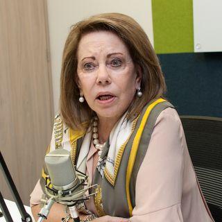 """""""Salirse de la política es dificilísimo, es como la mafia, uno no se puede retirar"""", dice María Mercedes Cuéllar."""