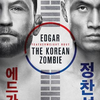 Preview Of The UFCONESPN Card Headlined By Chan Sung Jung-Frankie Edgar!In Busan Korea!!