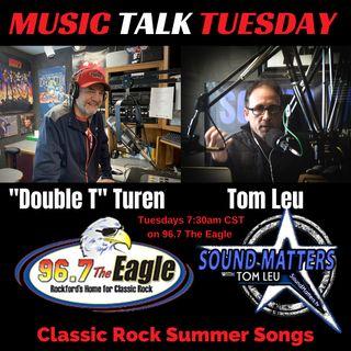 (Music Talk Tuesday): Classic Rock Summer Songs