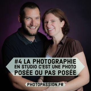 La photographie en studio c'est une photo posée ou pas posée