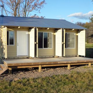 Shipping Container Cottages and Community