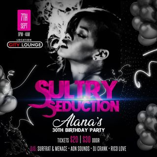 SULTRY SEDUCTION PROMO