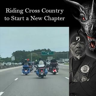 Rolling Cross Country to Start a New Chapter - Live with Black Dragon