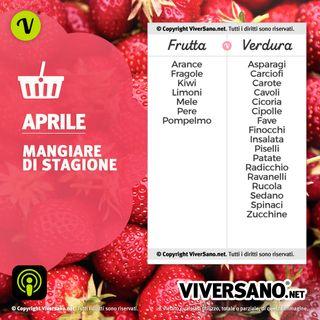 Frutta e verdura di stagione ad Aprile