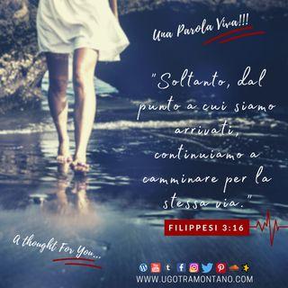 """Filippesi 3-16 I """"Soltanto"""" di Dio"""