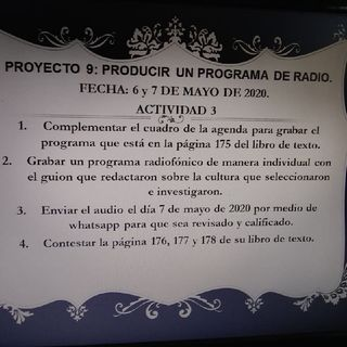 """Guión De Radio """"Cultura Chinchorro"""""""