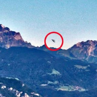 UFO Buster Radio News - 195: Alps UFO Base?