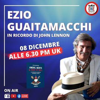 John Lennon, le ultime ore e i retroscena secondo Ezio Guaitamacchi