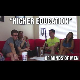 "S1E4 "" Should I Go To College?"" with Emily Pharr and Carlos Ojeda - Of Minds Of Men Podcast"