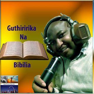 Habari Diaspora Radio - Guthiririka na Bibilia