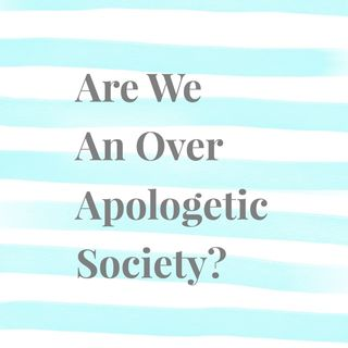 Are We An Over Apologetic Society? - With Allegra and Jared Harris