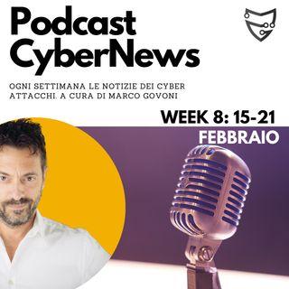 CyberNews: Week #9 | 15-21 Febbraio | Cosa è successo nel Cyber Crime?
