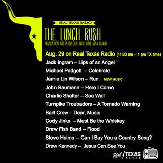 August 29: The Lunch Rush with Drew Myers