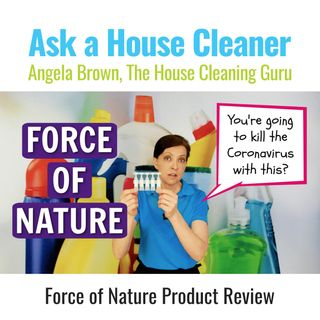 Force of Nature Product Review for Homemade Disinfectant - Sanitizer