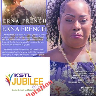 Episode 10 - PK Interview with St. Louis Gospel Artist ERNA FRENCH
