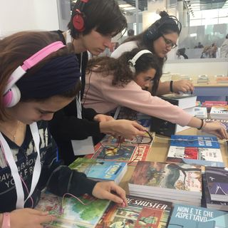 #to Salone Internazionale del Libro 2018