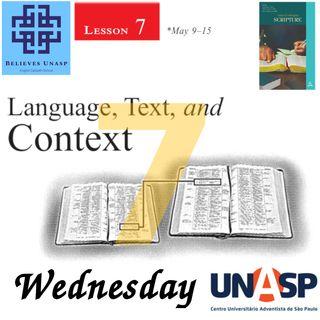 647-Sabbath School - 13.May Wednesday