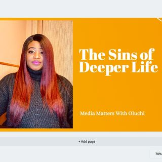 The Sins of Deeper Life