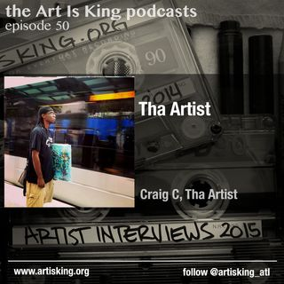 Art Is King podcast 050 - Tha Artist