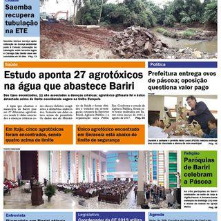 Destaques do Jornal Candeia - 20/04/2019