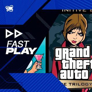 Fast Play (08/10): GTA Trilogy é oficialmente anunciado e produtor de Bloodborne vai para a Team Ninja