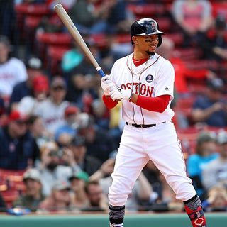 Reigning MVP Mookie Betts Underachieving For Struggling Red Sox