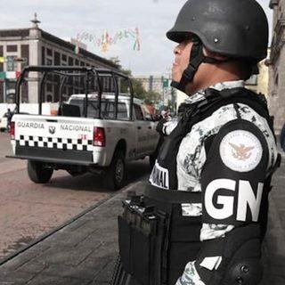 Guardia Nacional decomisa cargamento de metanfetaminas