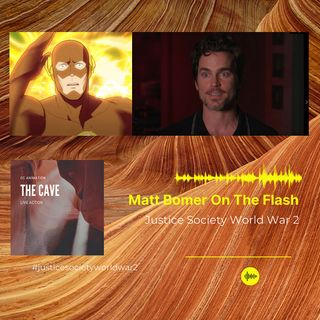 Matt Bomer On The Flash in Justice Society World War 2