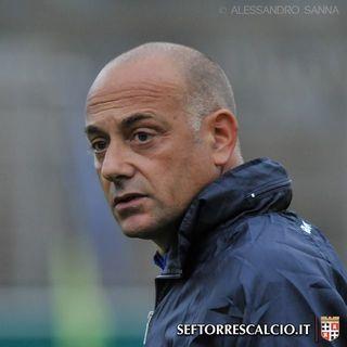 Mister Ferazzoli dopo la vittoria alla 9^ e in vista del Budoni