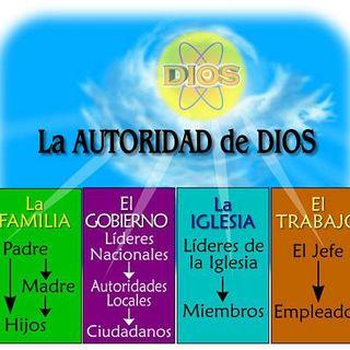 La Autoridad Delegada por Dios