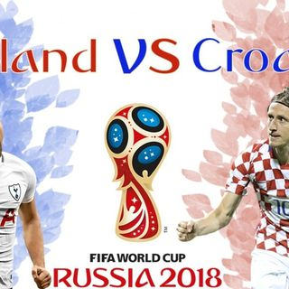 Live-N-Five Show Episode #28 England vs Croation World Cup Semifinal