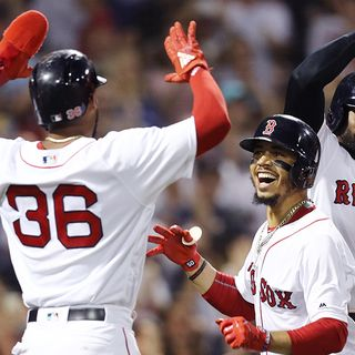 Boston Embracing First-Place Red Sox