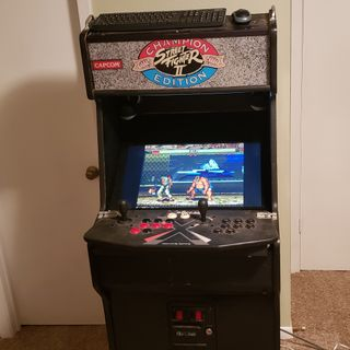 My old arcade machine still works!