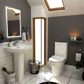 Bathroom suites with vanity unit are the modern choice