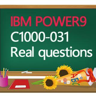 C1000-031 practice test questions