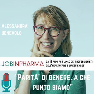 Alessandra Benevolo, Ipsen: Parità di genere, a che punto siamo