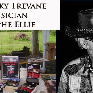 Live with author Jacky Trevane and later with Christophe Elie